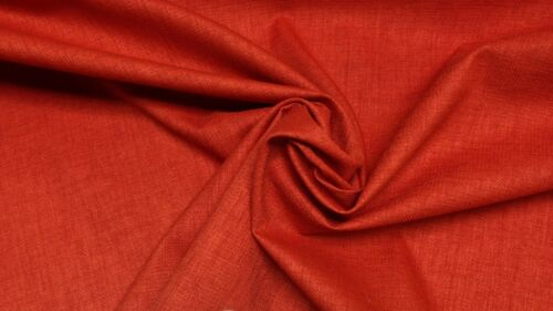 RICHLOOM RAVE FLAME RED SOLID WOVEN OUTDOOR INDOOR MULTIUSE FABRIC BY YARD