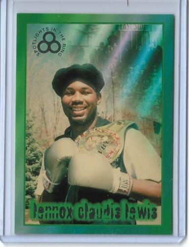 """RARE 1996 RINGSIDE /""""SILVER/"""" LENNOX LEWIS CARD #10 ~ MULTIPLES AVAILABLE"""