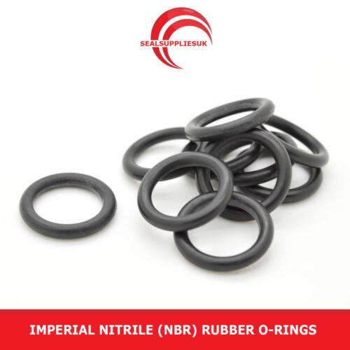 IMPERIAL en caoutchouc nitrile O Anneaux 3,53 mm section bs231-bs260 - uk fournisseur