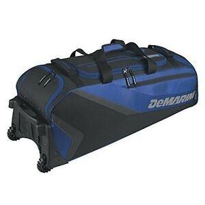 f737f29247 DeMarini Grind Wheeled Baseball Equipment Bag Royal for sale online ...