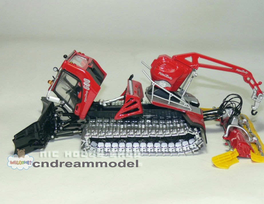 ROS 1 43 Pisten Bully 600 Winde Snowplow Snowplow Die Cast Model
