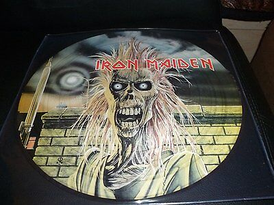 33T.LP.IRON MAIDEN.SAME.1980 .PICTURE DISC..EDITION LIMITEE. 500 COPIES
