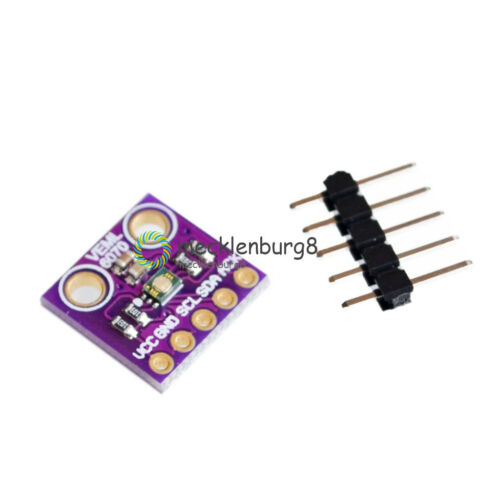 New VEML6070 UV Sensitivity Detection Light Sensor for Arduino I2C GY-VEML6070