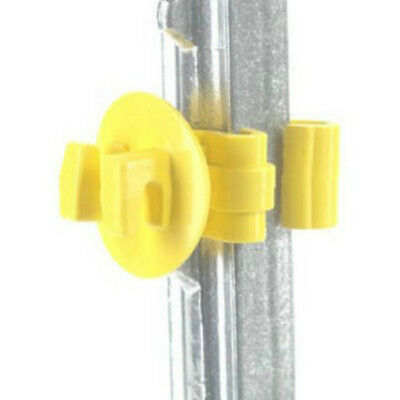 Dare Snap-On White Polyethylene Electric Fence Insulator 25-Pack 2334-25W 1
