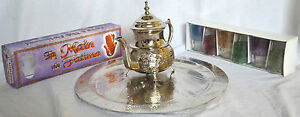 Authentic-Traditional-Moroccan-Stainless-Steel-Tea-Set-Teapot-Shot-Glass-Tray