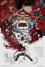 Akira Movie Poster by Man Tsun Tsang Ltd x/79 NT Mondo Tyler Stout Print Art