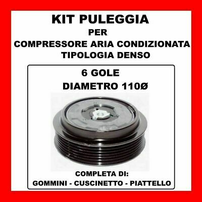 KIT PULEGGIA COMPRESSORE AC 13435 FIAT BRAVO-DOBLO-PUNTO-SEDICI MULTJET 71789108