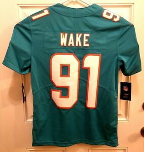 Details about Nike Miami Dolphins Cameron Wake NFL Authentic Jersey Sewn Stitched Men's Size S