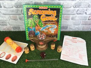 Screaming-Genie-The-Frantic-3d-Race-Game-Waddingtons-1992-Good-Pre-Owned-Con