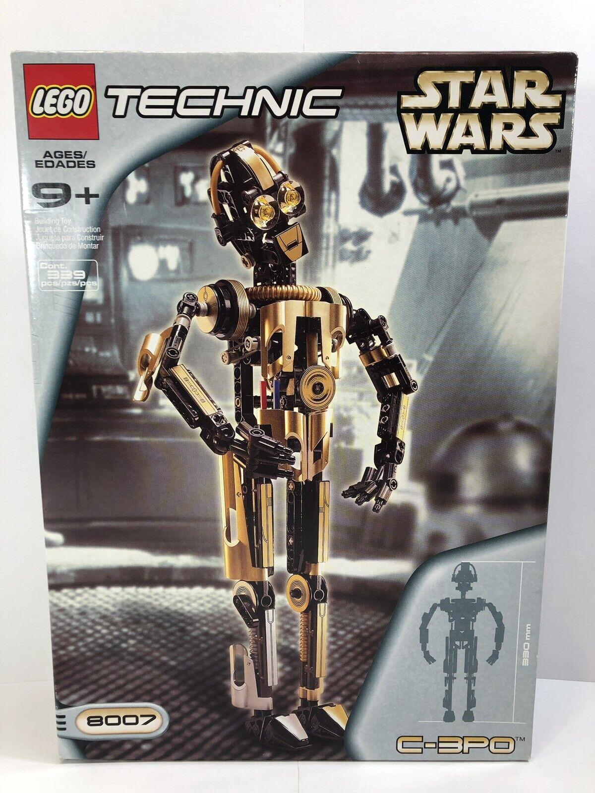 Lego 8007 Technic C-3PO (Retirot) 2001 New Sealed.