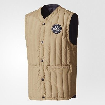$170 Adidas Men Originals Kopelman Vest hemp night navy