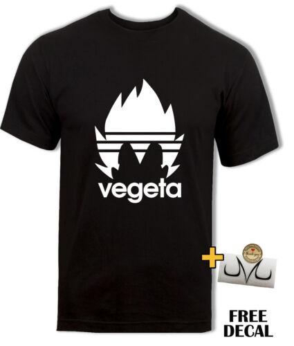 XXL DBZ Vegeta Funny T shirt parody Dragon Ball Z Super Gym t Anime mens Top S