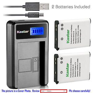 Kastar-Battery-LCD-Charger-for-Nikon-EN-EL19-amp-Nikon-Coolpix-A100-Coolpix-A300