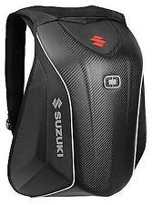 OGIO Suzuki No Drag Mach 5 Backpack Stealth Motorcycle Street Bike Luggage