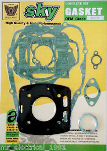 KR Engine Gasket Set Complete Gasket Set Yamaha RD 125//RD 125