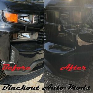 2019 2020 Chevy Silverado Custom 1500 Headlight Blackout ...