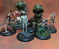Malifaux Painted Jacob Lynch Crew & Extras (Neverborn / Ten Thunders / 10T)