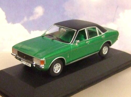 Corgi Vanguards Druckguss 1//43 1977 Mk1 Ford Granada 3.0 Ghia Jadegrün Va05212