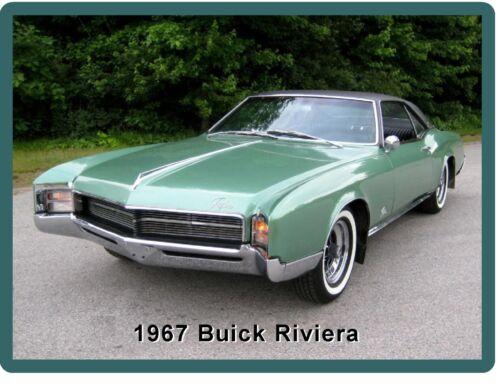1967 Buick Riviera Auto Refrigerator Tool Box  Magnet