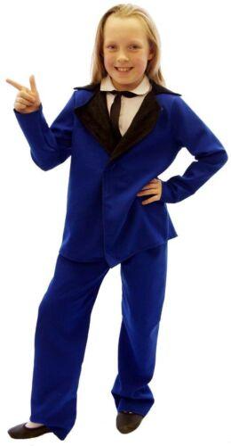 3 couleurs tous âges Années 1950 graisse//rock and roll//Stade//Show Teddy Costume Garçon