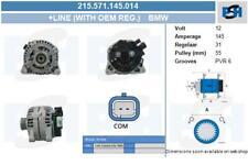 Lichtmaschine 215.571.145.014 mit Original Bosch Regler MINI MINI