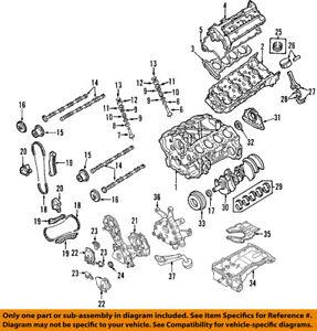 infiniti nissan oem 06 10 m45 engine valve cover 13264eh20a ebayimage is loading infiniti nissan oem 06 10 m45 engine valve