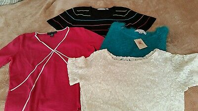 Generous Womens Size Small Dress Or Casual Tops Attractive Designs; Women's Clothing