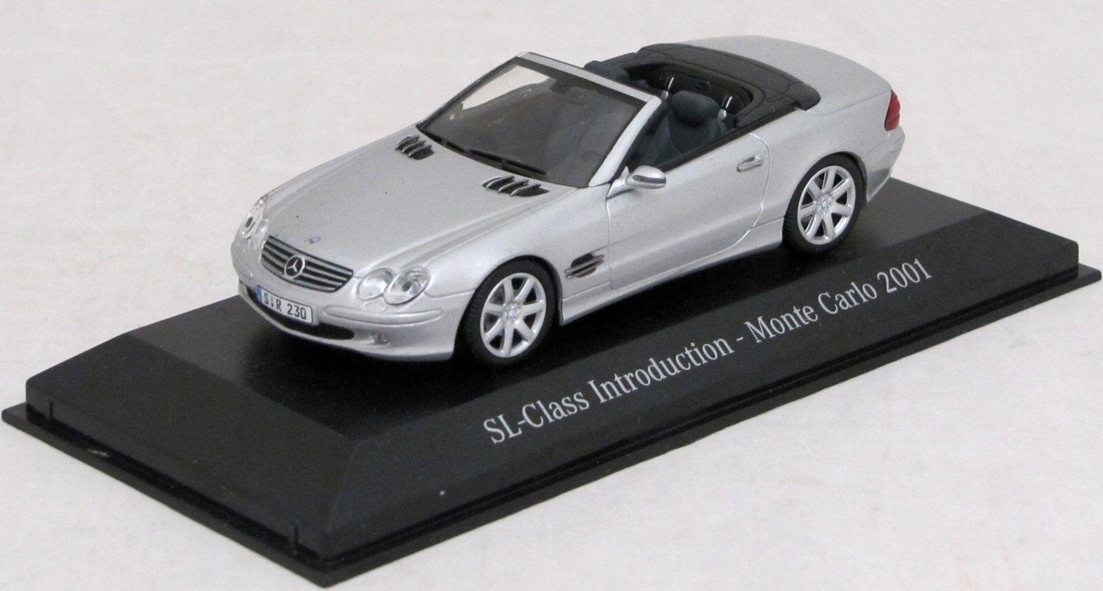 Mercedes Benz SL-Class Monte Carlo 2001 Diecast 1 43 Minichamps Paul's Model Art