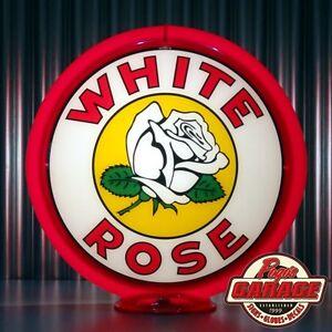 33/'/' Door push bar retro antique vintage White Rose gasoline sign advertsing