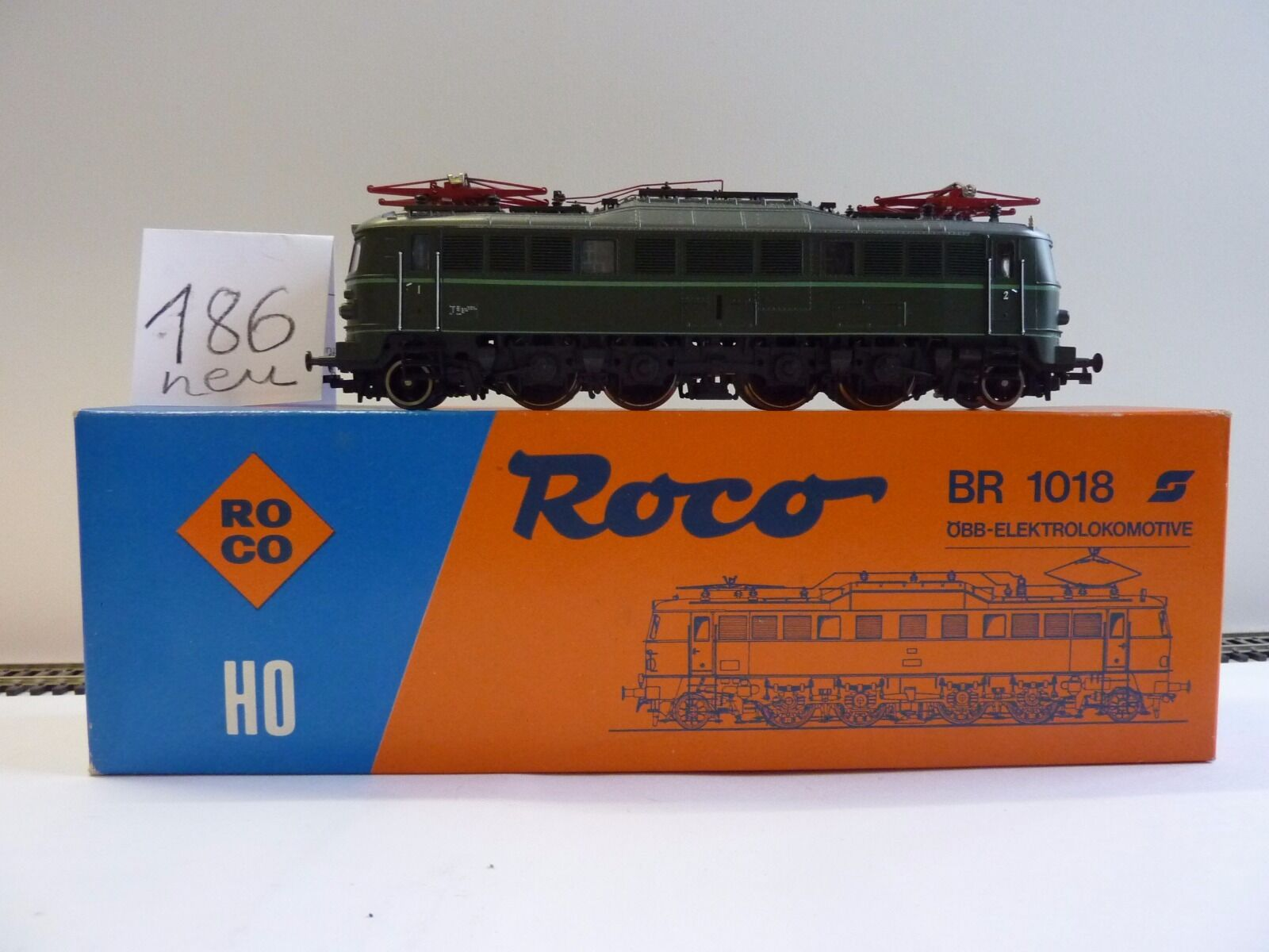 Roco ÖBB 1018.08 PARTNO. 04141f con embalaje original