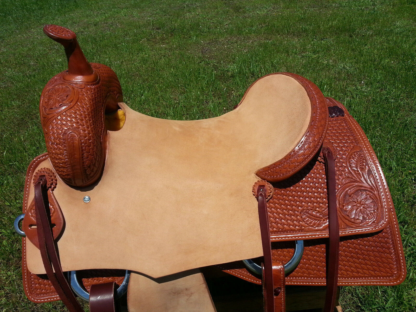 16  Spur Saddlery Cutting Saddle (Made in Texas) Ranch Cutter