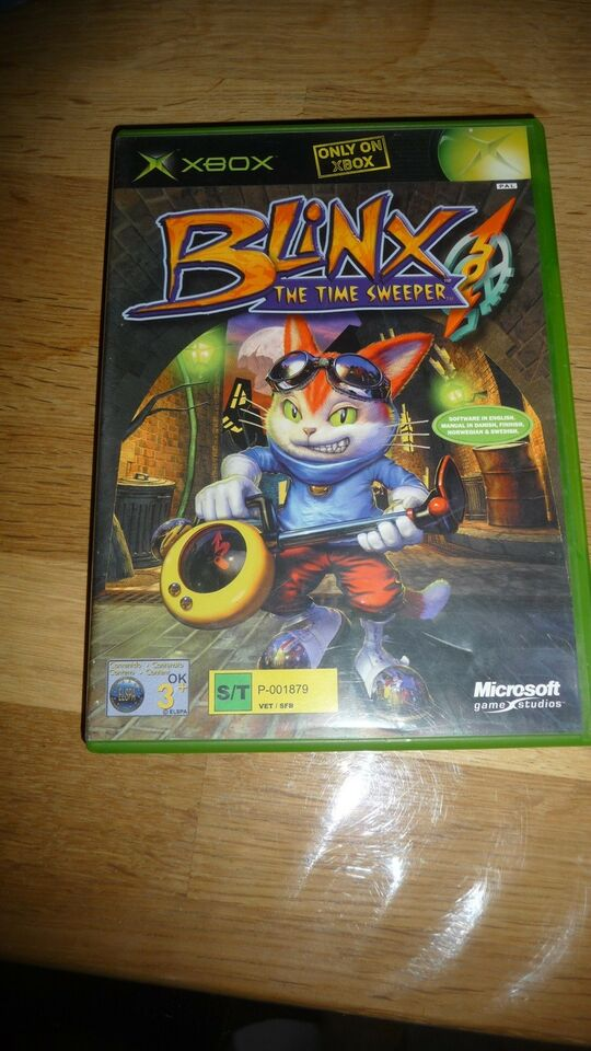 Blinx the time sweeper, Xbox, anden genre