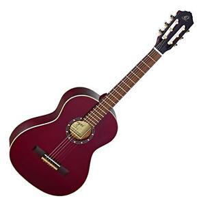 Ortega-R121-3-4-WR-Konzertgitarre-Akustik-Classical-Guitar-3-4-Groesse-Tasche-Bag