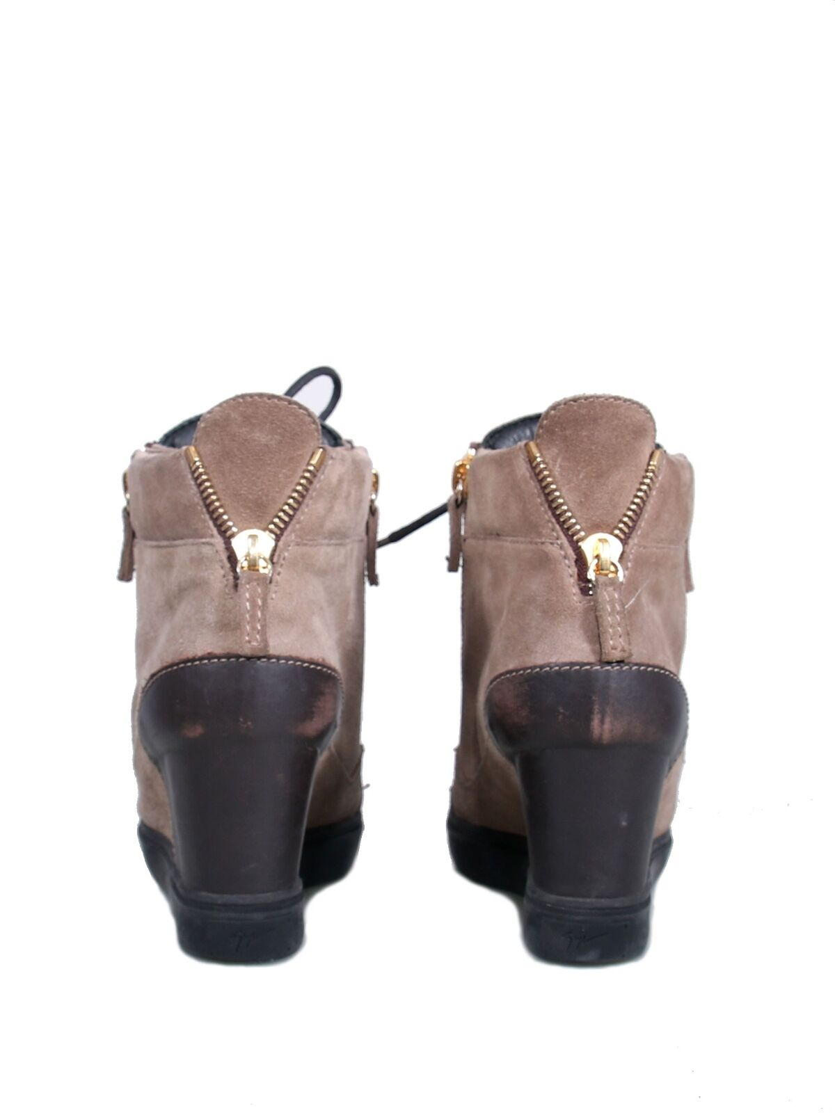 GIUSEPPE ZANOTTI Suede Suede Suede Wedge scarpe da ginnastica 2cb526