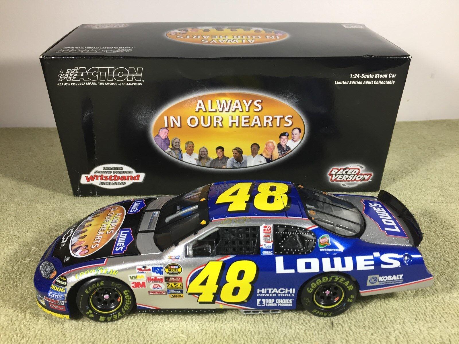 2004 Action JIMMIE JOHNSON Lowes Atlanta Race Version Diecast Nascar 1 24