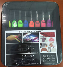 All Size Crochet Hook With Led Knitting Needles With Case Light Up
