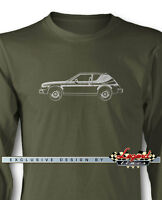 Amc Gremlin X 1977 Long Sleeves T-shirt - Multiple Colors And Sizes