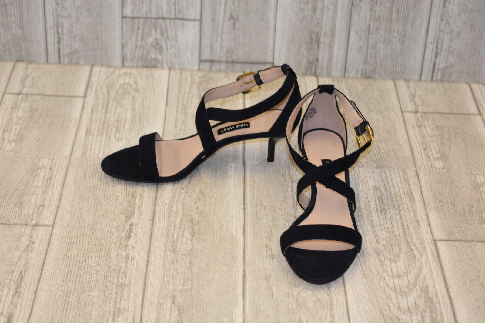 Nine West Xaeden Heel Sandal - Women's Size 6.5M, Dark Navy