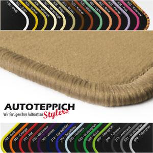 Velours Fußmatten in beige Audi A3 S3 8V + Sportback ab Bj 2013