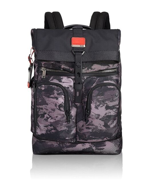 latest good service on wholesale Auth Tumi Men's Griffin Lightweight Roll Top Laptop Large Backpack ...