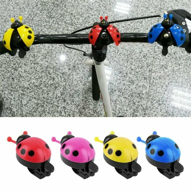 Horn Beetle Ride Children Bicycle Accessories Bike Horn Ladybug Bell Siren