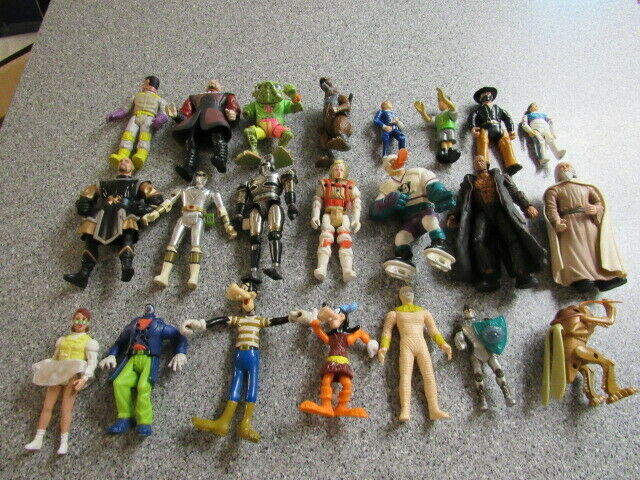 LOT OF VINTAGE ACTION FIGURES GHOSTBUSTERS GHOSTBUSTERS GHOSTBUSTERS TMNT POWER RANGERS 99a0a5
