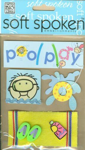 Kid/'s Pool Play Soft Spoken Stickers Me /& My Big Ideas