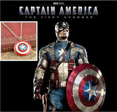 """Captain America""New US Movie Marvel Comics Sign Man's Fashion Pendant Necklace"