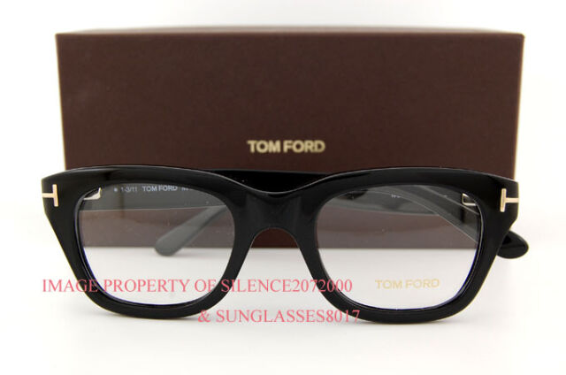 Tom Ford Eyeglasses Frames 5178 001 Black for Men | eBay