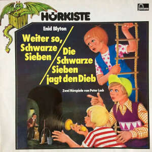 Enid-Blyton-Weiter-So-Schwarze-Sieben-Die-Schwarz-Vinyl-Schallplatte-181527