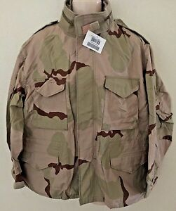 021433b20a46d NEW USGI 3 COLOR DESERT CAMO M65 FIELD JACKET XL SHT (NWT) | eBay