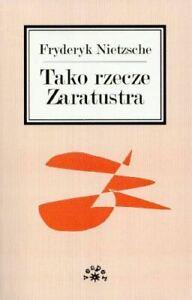 Very-Good-Tako-rzecze-Zaratustra-Nietzsche-Friedrich-Paperback
