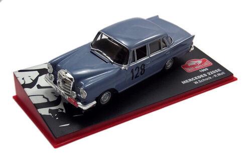 1 Mercedes 220SE Rallye Monte Carlo W.Schock 1960