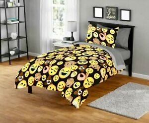 Pop-Shop-Premium-Emoji-Super-Soft-Twin-XL-Comforter-Set-2-Piece